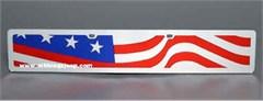 Lazer-Tag: Wavy USA Flag
