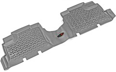 All Terrain Rear Liner Wrangler JK 4D 2007-2018 Gray Rugged Ridge