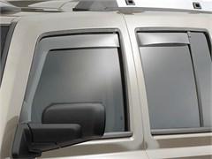 WeatherTech Rain Deflectors Commander 2006-2010 Light Smoke - Front & Rear