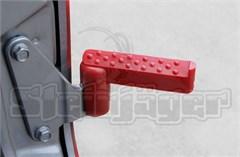 Foot Pegs for Jeep Wrangler JK 2Door/4Door 2007-2018 Red Steinjager