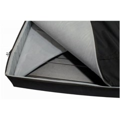 Freedom Top Panel Storage Bag Wrangler JK 2007-2018 Black by Rampage