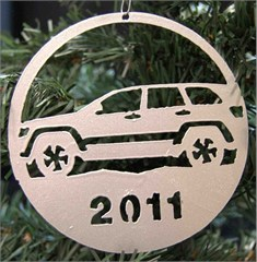 2011 Holiday Ornament - Jeep Grand Cherokee