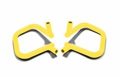 Front Rigid Grab Handle for Wrangler JK/JKU 2007-2018 in Neon Yellow by Steinjager
