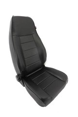 Replacement Front Seat With Recliner for Jeep CJ, YJ, and TJ
