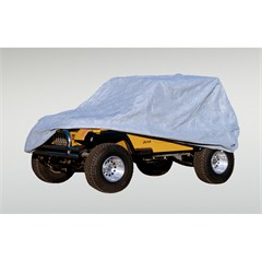 Heavy Duty Full Car Cover for Jeep CJ, YJ, and TJ (1976-2006)