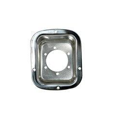 Stainless Gas Filler Cover for Jeep CJ and YJ (1976-1995)