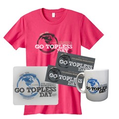 SOLD-OUT - Go Topless Day 2012 Women's Gift Set