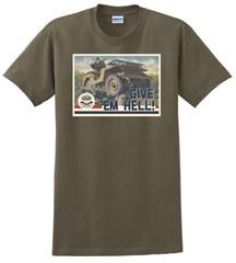 """Give 'Em Hell!"" Unisex Short Sleeve Shirt"