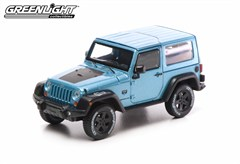 Collectible Jeep Wrangler Rubicon Artic Edition in Blue 1:43