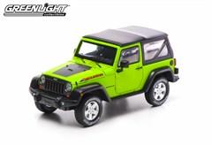 Collectible Jeep Wrangler Rubicon Mountain Edition in Green 1:43
