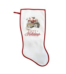 "Closeout: Exclusive ""Happy Holidays"" Stocking"