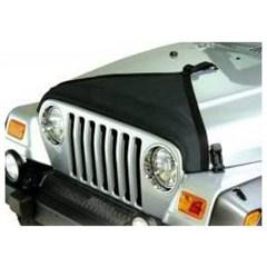 Black Denim Triangle Hood Bra for Jeep Wrangler TJ (97-06)