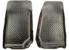 Classic Style Floor Liners for Jeep Liberty 2002-2007 in Black - Front
