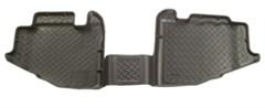 Husky Rear Floor Liners for Jeep Wrangler YJ (1991-1995) - Black