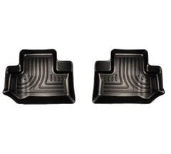 Husky Rear Floor Liners in Black for 2 door Jeep Wrangler JK 2014-2017