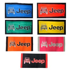"Oversized 63"" x 34"" Jeep Towel-To-Go with Carabiner Clip"