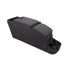 Black Denim Ultimate II Locking Console for Jeep CJ7, CJ8 and YJ