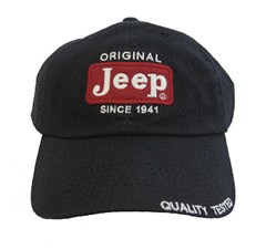 Jeep Hat: Original Patch Hat in Navy Blue