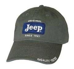 Jeep Cap - Original Patch Hat - Sage