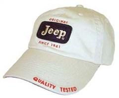 Jeep Cap - Original Patch Hat - Stone Color
