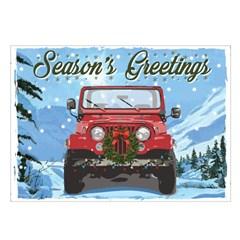 Jeep Holiday Card Season's Greetings, Boxed Set of 10