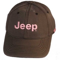 Women's Jeep® Cap (Pink on Brown)