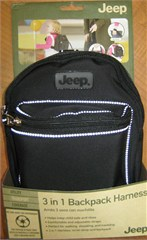 Closeout: Jeep 3 in 1 Child Backpack Harness