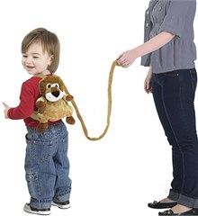 Jeep Lion Children's Backpack and Safety Harness