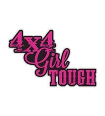 4x4 Girl Tough Decal