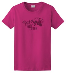 4x4 Girl Tough Women's T-Shirt