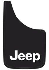 "Black Jeep 9x15"" Inch Mud Guards"