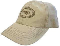 """Jeep """"The American Legend"""" Hat in Khaki"""