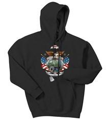 American Traditional Tattoo Adult Hooded Sweatshirt