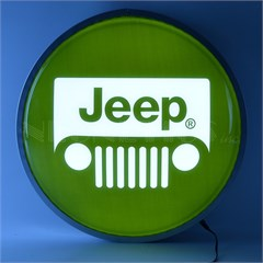 "Jeep Grille Logo 15"" Backlit LED Lighted Sign"