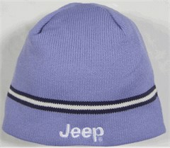 Jeep Beanie Hat -with Stripes