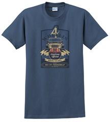 Beer Label Men's T-Shirt, Blue