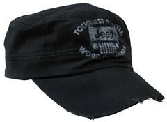 Jeep Grille  Black Cadet Hat