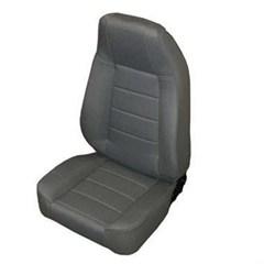 Front Seat - Standard Bucket - Jeep CJ & Wrangler- Denim Black