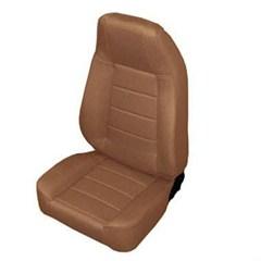 Front Standard Bucket Seat, Jeep CJ & Wrangler - Denim Spice