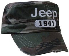 Jeep Camouflage Cadet Hat