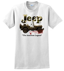 Jeep® Camo Tee (white)