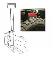 Third Brake Light Bracket Extension Assembly