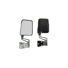 Chrome Side Mirrors for Jeep Wrangler YJ, TJ (full & half doors)