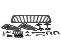 Complete Hood Kit,  Jeep Wrangler YJ 1987-1995 - Black
