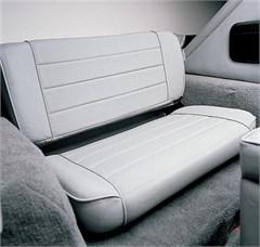 Rear Seat Fold & Tumble for Jeep CJ, Wrangler YJ - Denim Gray