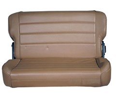 Rear Seat Fold & Tumble for Jeep CJ, Wrangler YJ - Denim Spice