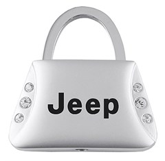 Jeep Keychain & Keyring - Purse with Bling