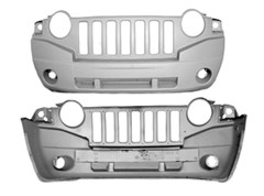 Front Bumper Cover for Jeep Compass 2007-2010, Omix-Ada