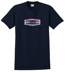 Jeep® Dependable Power T-Shirt (Navy Short Sleeve)