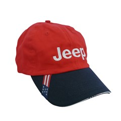 100% Cotton American Flag Embroidered Jeep Hat